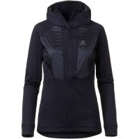 Salomon Fleecejacke GRID Fleecejacken blau Damen