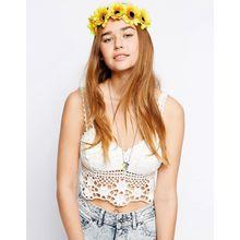 Johnny Loves Rosie - Haarband mit Sonnenblumen - Gelb