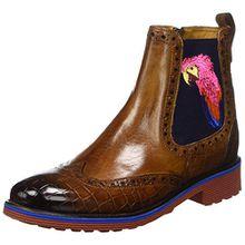 Melvin & Hamilton Damen Amelie 47 Chelsea Boots, Braun (Tobacco), 37 EU