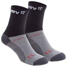 Inov-8 - Speed Sock High - Laufsocken Gr L schwarz/grau