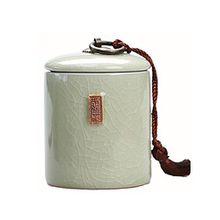 Keramik-Aufbewahrungsbecher für Tee Kaffee Zucker und Kräuter mit Deckel