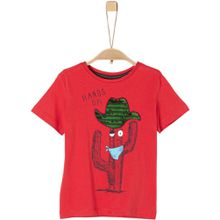 s.Oliver T-Shirt - Hands up!