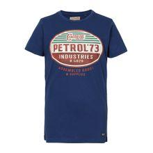 Petrol Industries T-Shirt royalblau