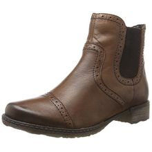 Remonte Damen D4396 Chelsea Boots, Braun (Mahagoni), 44 EU