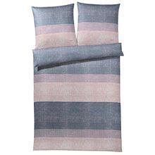 JOOP! Bettwäsche | Sparkling Stripes rose | 155 x 220 cm