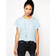 Glamorous - T-Shirt - Blau