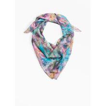 Shoplifter Ready Or Knot Silk Scarf - Purple