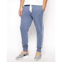 ASOS Skinny Sweatpants With Sports Stripe