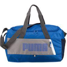 PUMA Fundamentals Sports Bag S II blau / grau