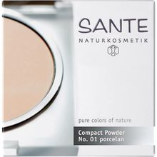 Sante Naturkosmetik Make-up Teint Compact Powder Nr. 02 Light Beige 9 g