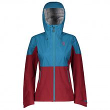 Scott - Women's Jacket Trail Mountain Stretch Hybrid 30 - Softshelljacke Gr M;XL;XS blau/rot;rot/blau