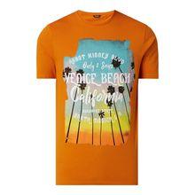 Slim Fit T-Shirt mit Print Modell 'Cane'