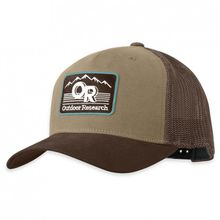 Outdoor Research - Advocate Trucker Cap - Cap Gr One Size grau/schwarz/rot