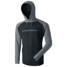 Dynafit - 24/7 Logo Hoody - Hoodie Gr L;M;S;XL schwarz/blau;schwarz/grau