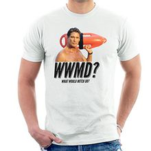 Baywatch What Would Mitch Do David Hasselhoff Men's T-Shirt