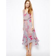 Warehouse - Kleid mit Mosaikmuster - Mosaikmuster