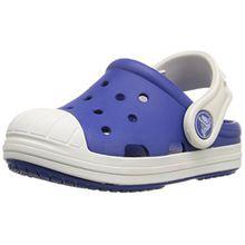 crocs Bump It Clog Kids, Unisex - Kinder Clogs, Blau (Cerulean Blue/Oyster), 22/23 EU