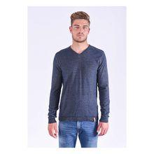 Kaporal Pullover Binko Neorem mit trendigem V-Ausschnitt Pullover blau Herren