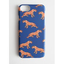 Tiger iPhone Case - Blue