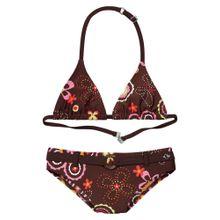 S.Oliver Junior Triangel-Bikini braun / mischfarben