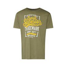 ESPRIT Shirt goldgelb / khaki