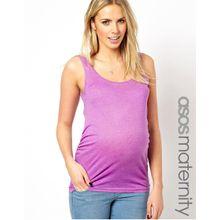 ASOS Maternity – Trägershirt mit Raffung