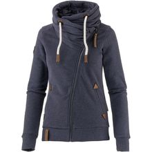 Naketano Sweatjacke Jedi Path Sweatjacken blau Damen