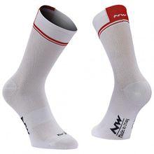 Northwave - Logo 2 High Socks - Radsocken Gr L;M;S schwarz;grau