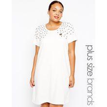 Junarose - Mandy - Kleid - Weiß