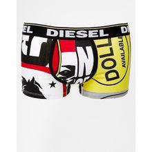 Diesel - Darius - Bedruckte Unterhose - Schwarz