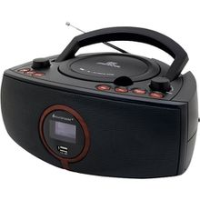 CD/MP3-Player Boombox mit DAB+ Radio, schwarz