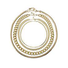 ASOS – Viererpackung Halsketten