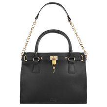 Cluty Handtasche schwarz Damen