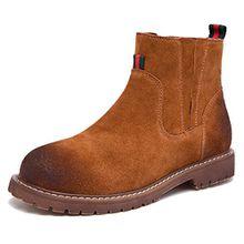 Fangsto  Boots,  Mädchen Damen Chelsea Boots , mehrfarbig - camel - Größe: 36.5