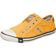 MUSTANG Sneakers Low gelb Damen