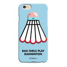 Iphoria Mirror au Portable Badminton für Apple IPhone 6/6s - Mehrfarbig