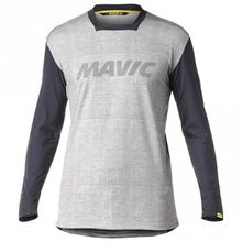 Mavic - Deemax Pro L/S Jersey LTD - Radtrikot Gr L;M;S;XL;XXL grau/schwarz