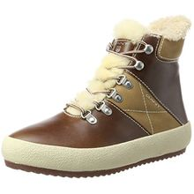 GANT Footwear Damen Amy Hohe Sneaker, Braun (Cognac), 42 EU