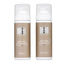 MERZ SPEZIAL Professional Schaumcreme-Set Sun Glow 50ml & Collagen 50ml