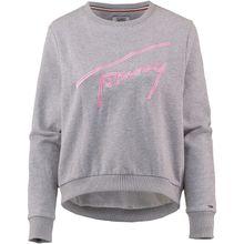 Tommy Jeans Sweatshirt Sweatshirts grau Damen