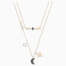 Swarovski Symbolic Moon Halskettenset, mehrfarbig, Metallmix