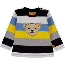 Steiff Sweatshirt - bunte Streifen