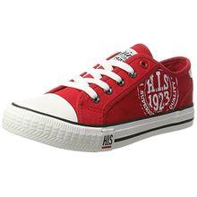 H.I.S Damen 151-020 Sneakers, Rot (Red), 36 EU