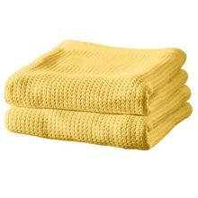 Erwin Müller Sommer-Decke 2er-Pack Baumwolle gelb Größe 150x200 cm