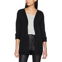 VERO MODA Damen Strickjacke Vmagoura LS Cardigan A, Schwarz (Black Beauty Black Beauty), 38 (Herstellergröße: M)
