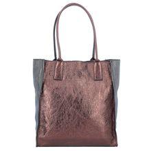 Caterina Lucchi Shopper Tasche Leder 29 cm bronze Damen