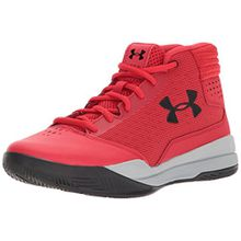 Under Armour Unisex-Kinder UA BGS Jet 2017 1296009-602 Sneaker, Mehrfarbig (Red 001), 38 EU