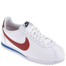 NIKE Sneaker - CLASSIC CORTEZ LEATHER weiß