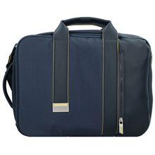 Samsonite Zigo Aktentasche mit Rucksackfunktion 40 cm Laptopfach blau