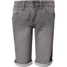 Pepe Jeans Jeansshorts 'CASHED' grau